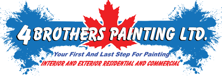 4 Brothers Painting LTD. Your First And Last Step For Painting INTERIOR AND EXTERIOR RESIDENTIAL AND COMMERCIAL